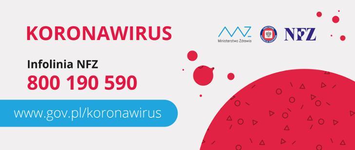 Znalezione obrazy dla zapytania: koronawirus infolinia